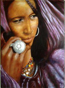 La Femme au médaillon